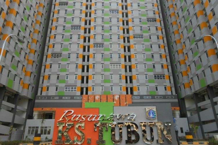 KS Tubun Rusunawa designated for those with monthly incomes of Rp 4-7 million