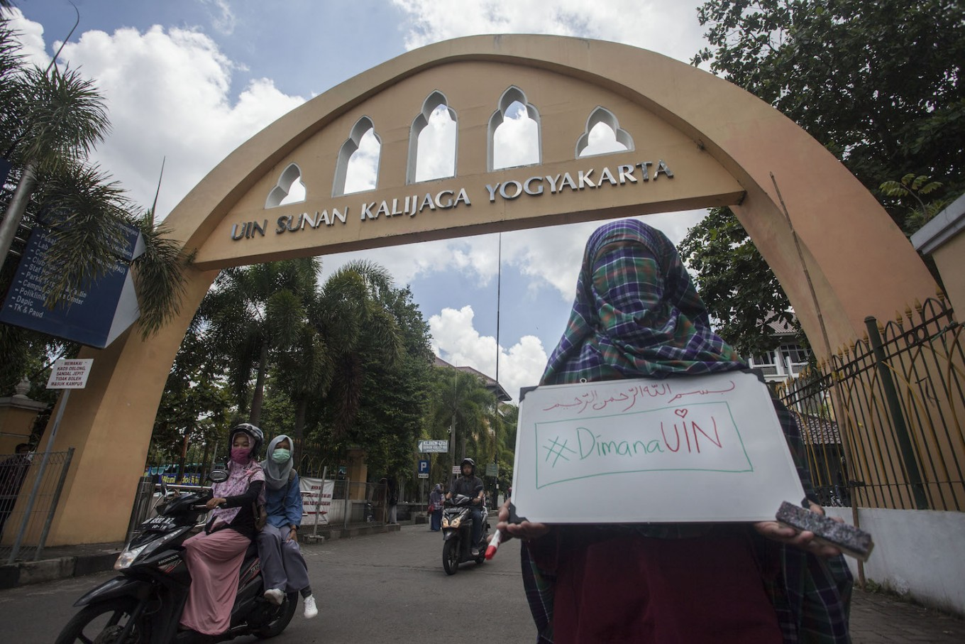 Yogya university cancels counseling program for 'niqab'-wearing students
