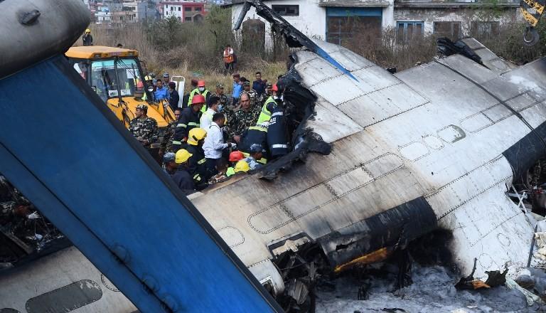 At least 40 dead in Kathmandu plane crash