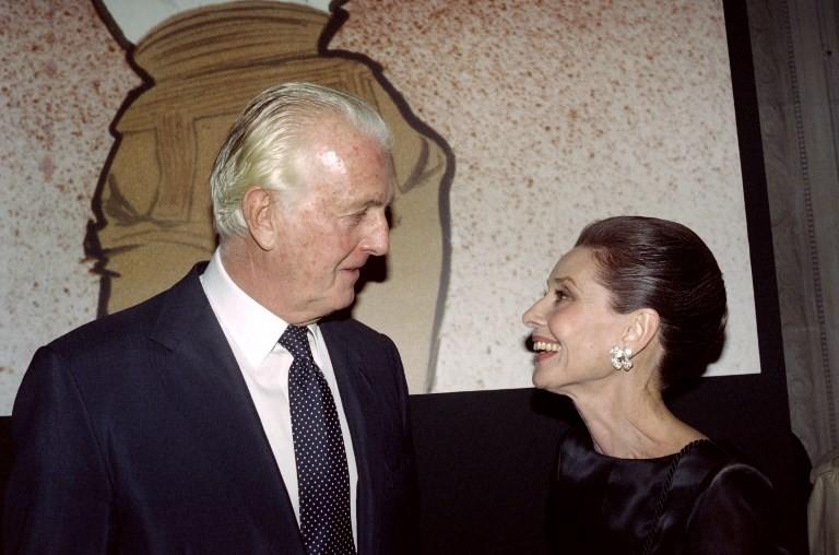 'Little black dress' designer Givenchy dies aged 91