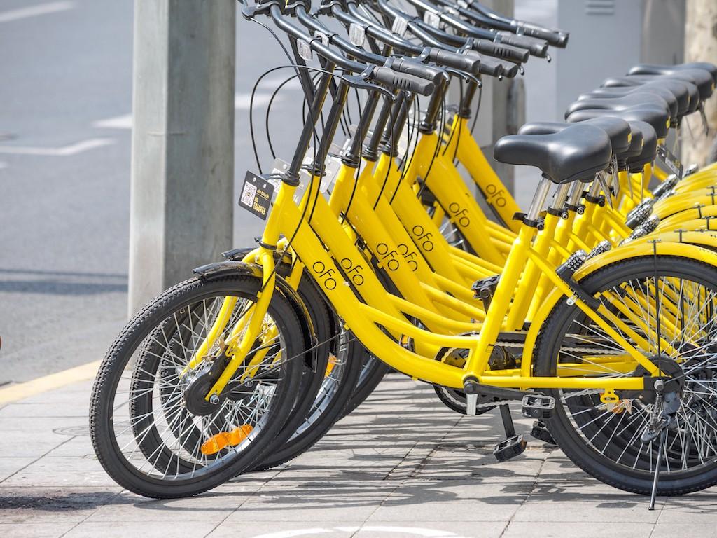 China's bike-share app Ofo raises $850 mn to expand overseas