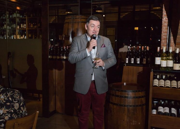 Christophe Thomas, export director of Joseph Drouhin