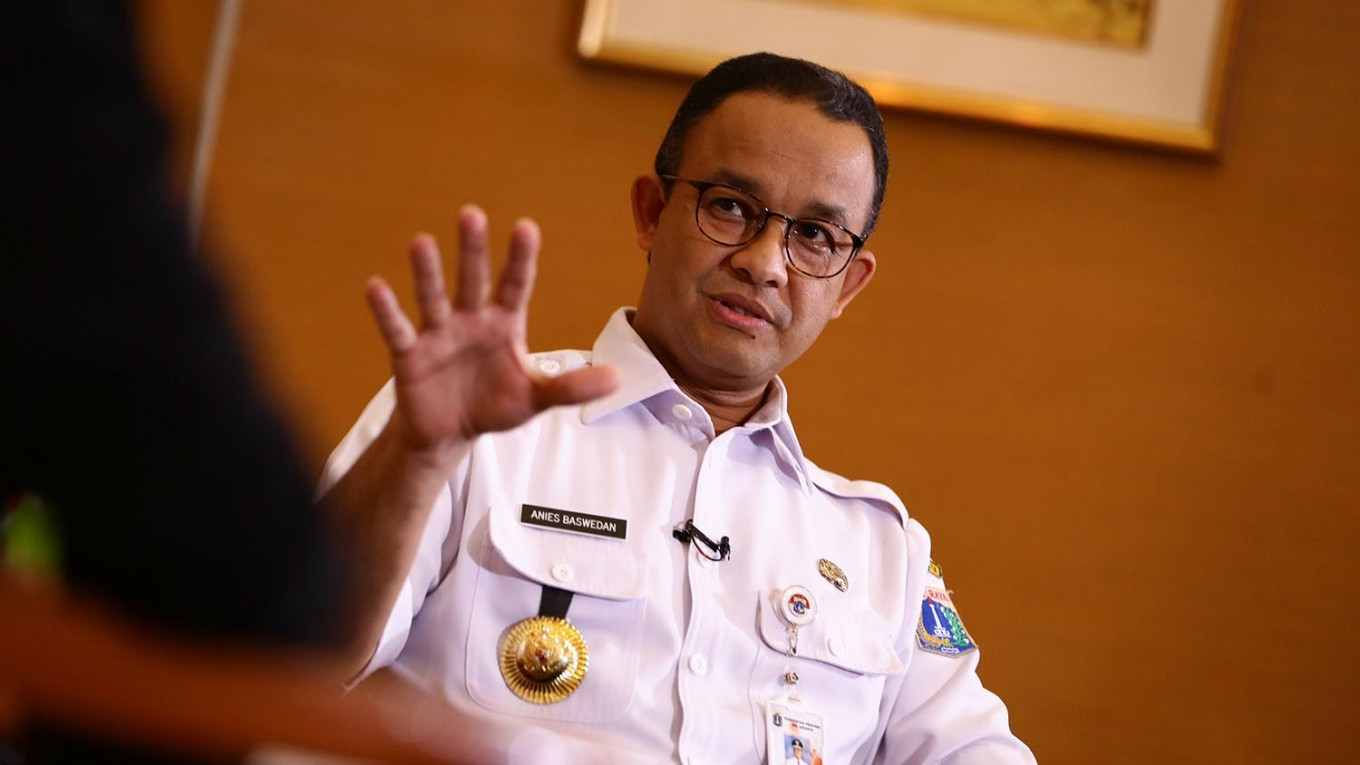 Anies advises residents to save water during dry season