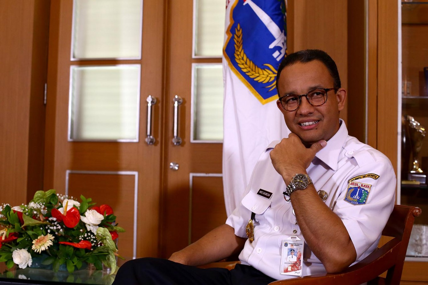 One Year In Anies Baswedan Still Has Much To Prove City The Jakarta Post