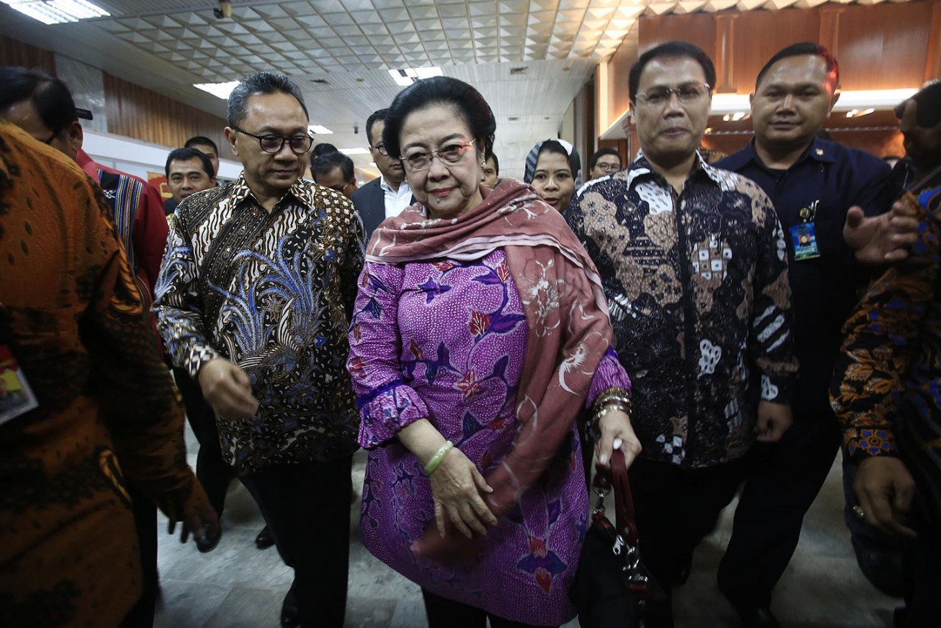 Megawati gets Rp 112m per month for promoting Pancasila