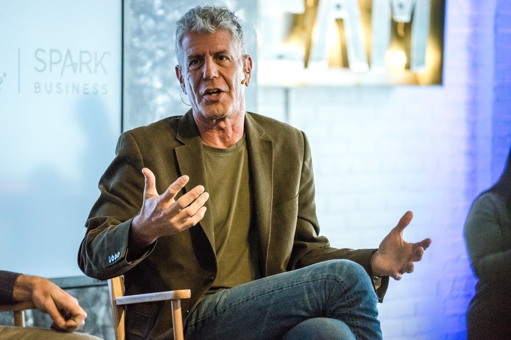Anthony Bourdain includes frequent flier miles in will