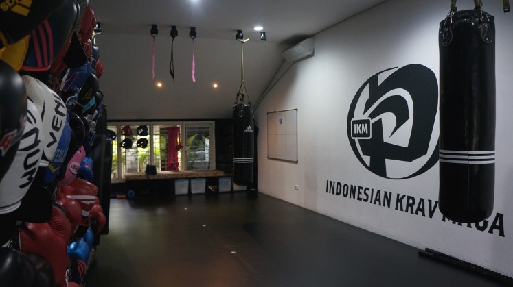 The interior of Spartan House Jakarta.