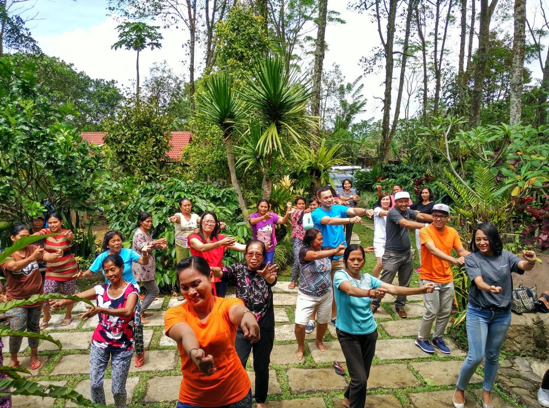 Female coffee farmers get empowered in Bali