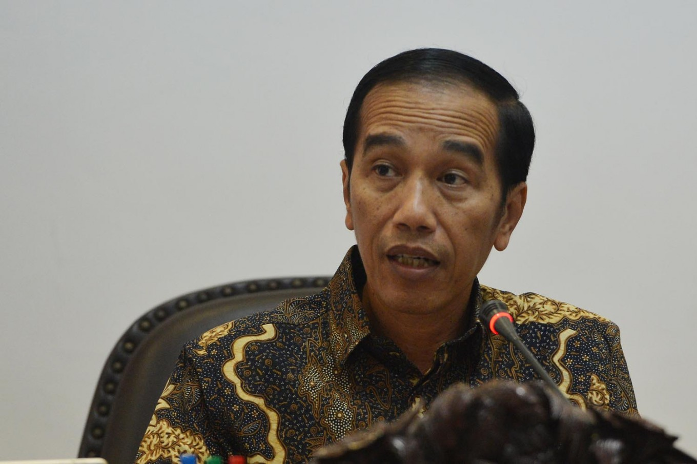 Five sectors backbone for fourth industrial revolution, Jokowi says