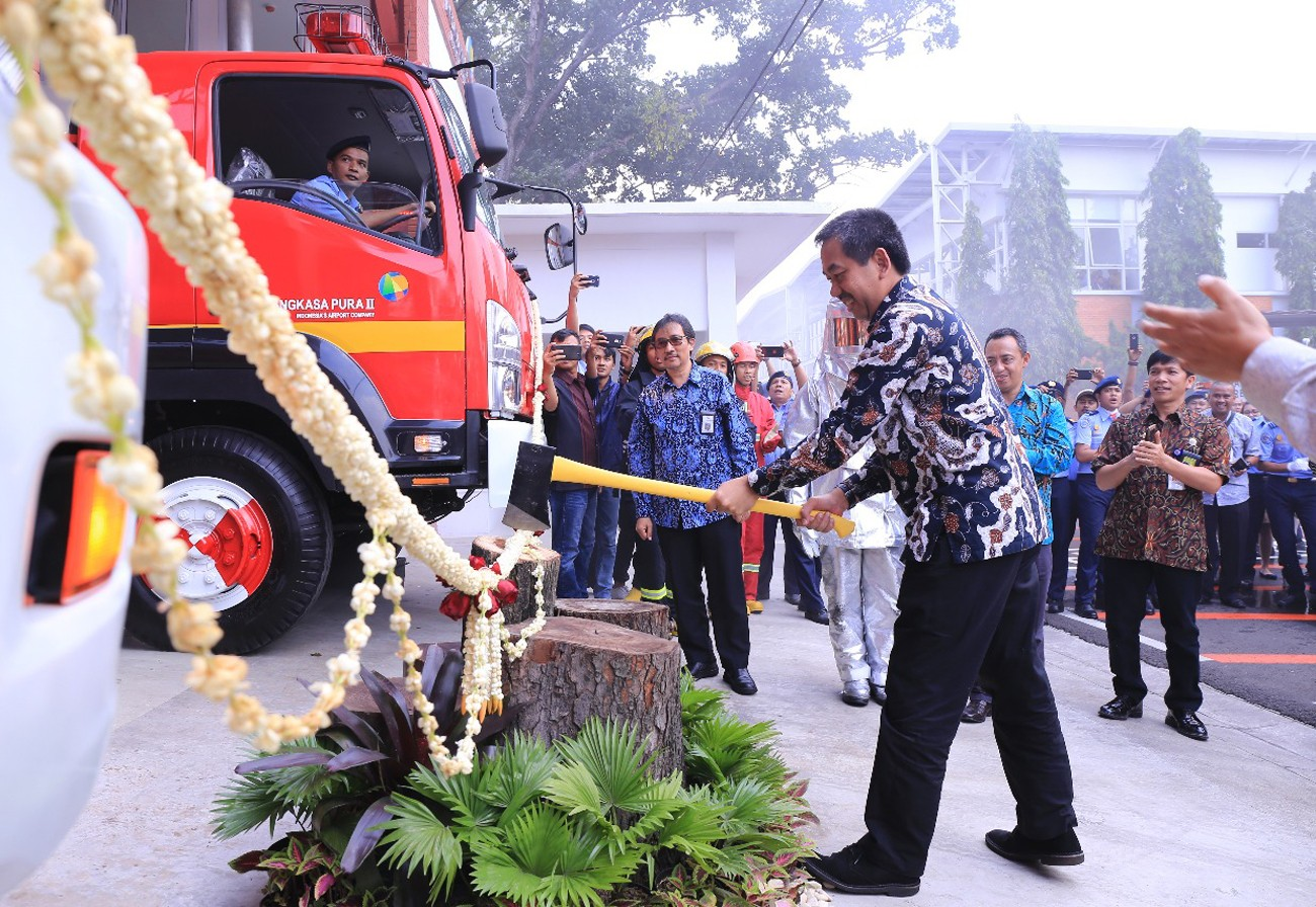 Soekarno-Hatta airport gets second fire station