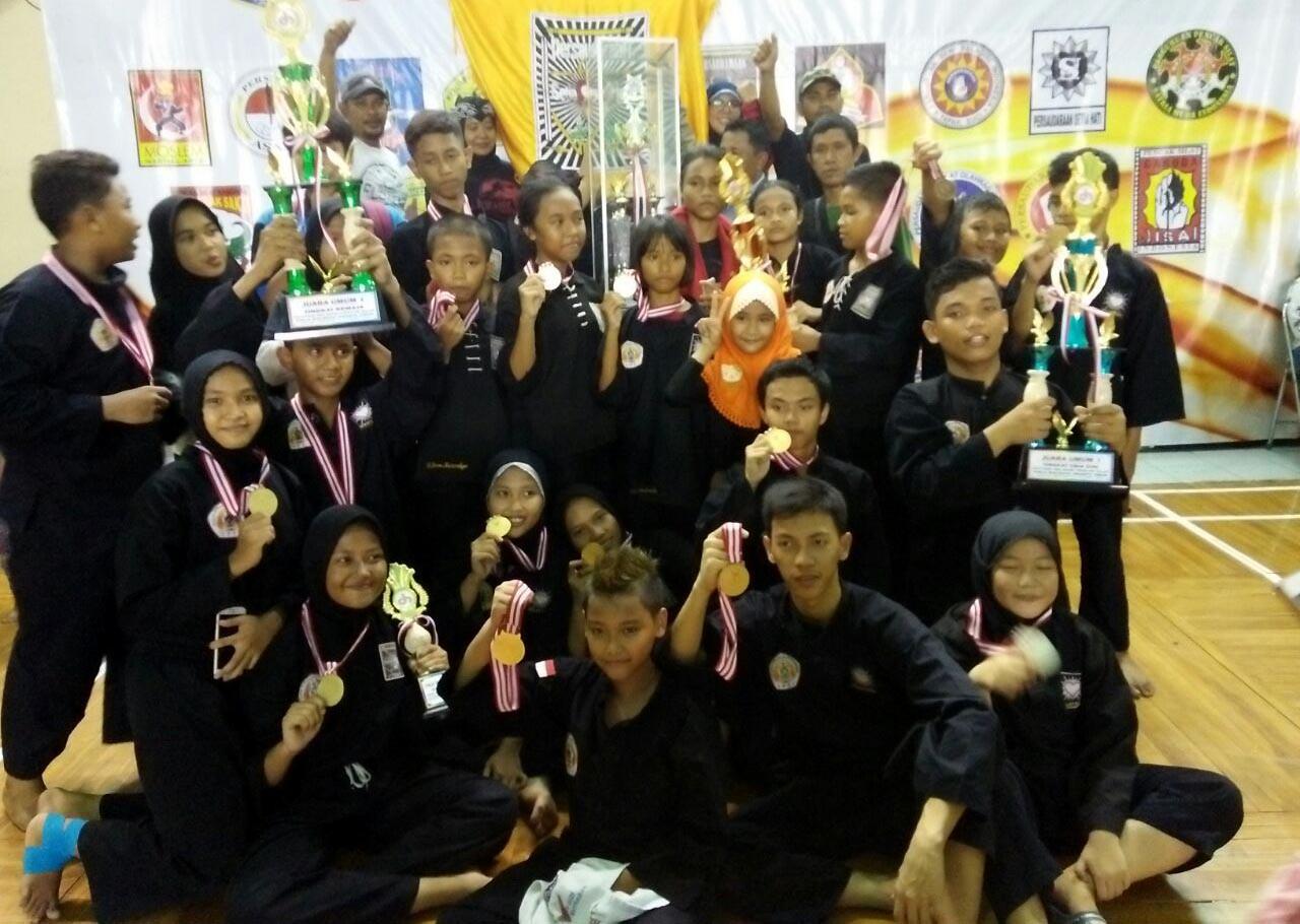 East Jakarta orphans win medals in pencak silat