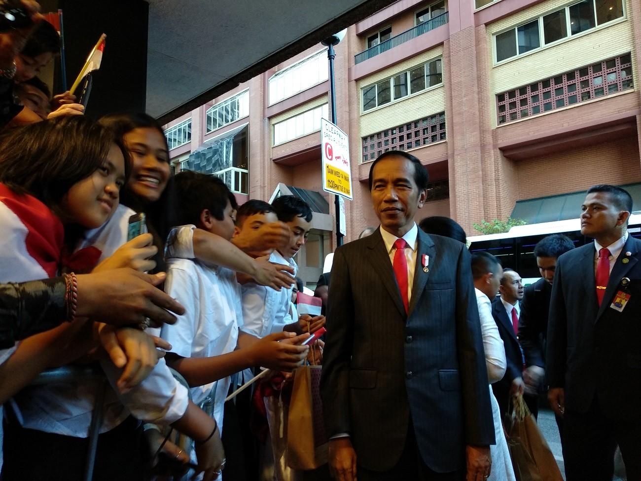 Indonesians in Sydney welcome Jokowi