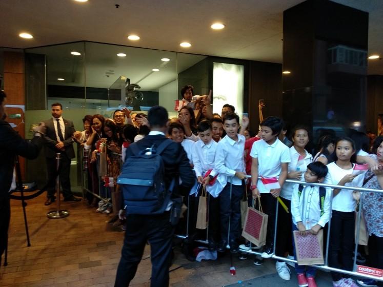 Welcome Mr President: Indonesiansliving in Sydney, Australia, prepared to welcome President Joko