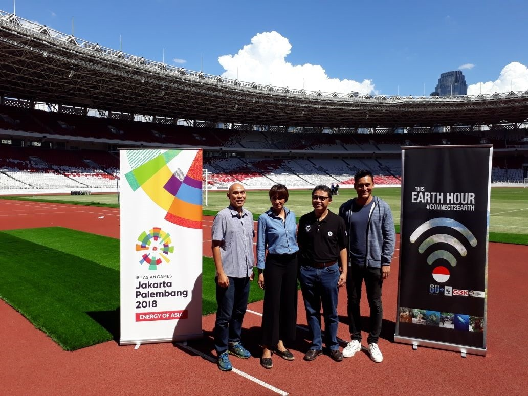 Gbk Stadium To Go Dark For Earth Hour Sports The Jakarta Post