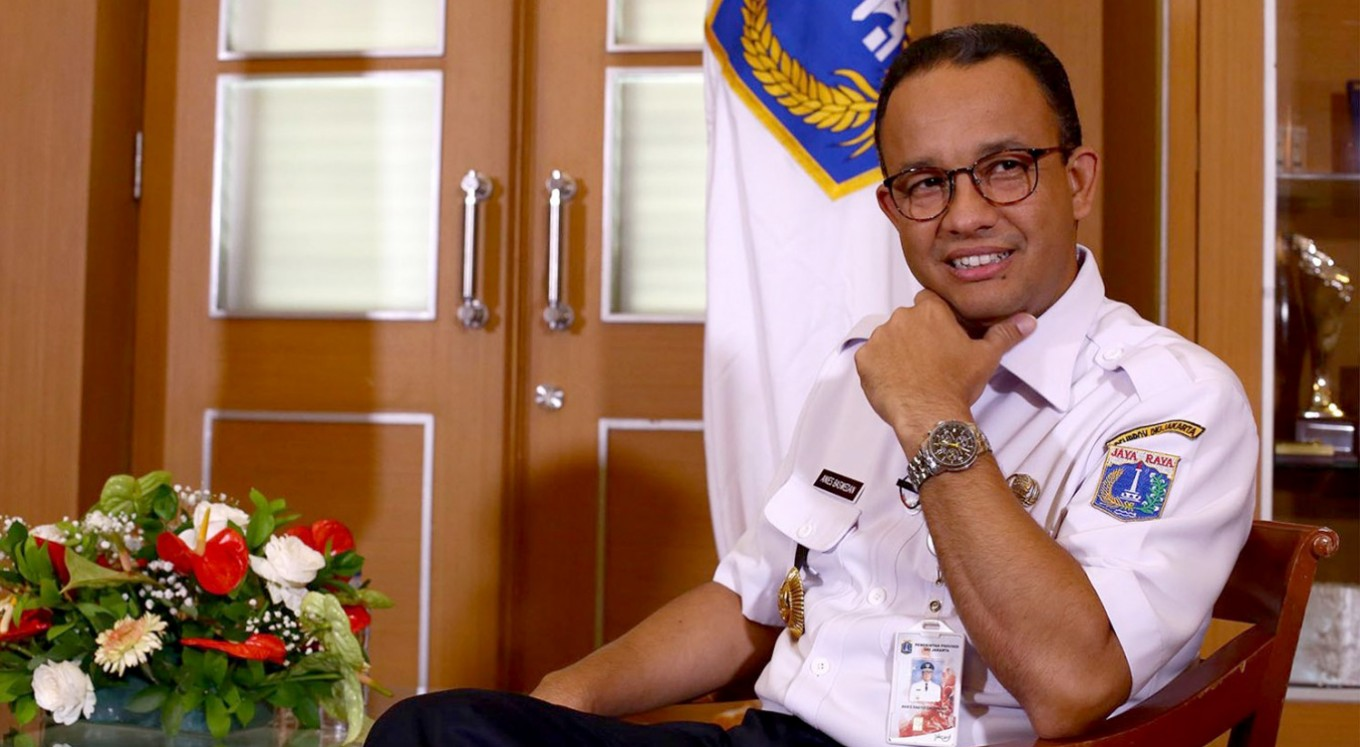 Discourse: Anies aims for unity by bringing social justice to Jakarta