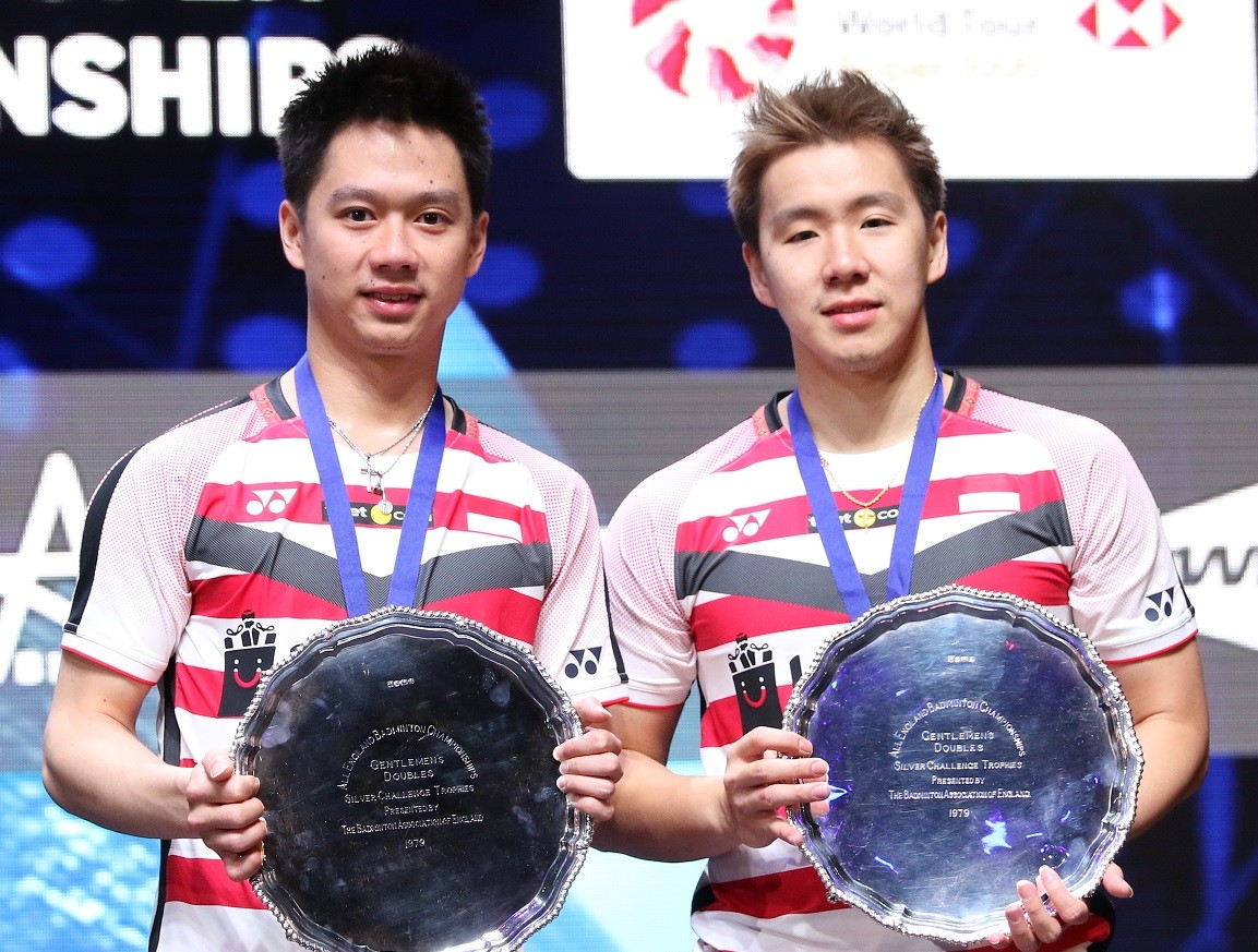 Marcus, Kevin defend All England title