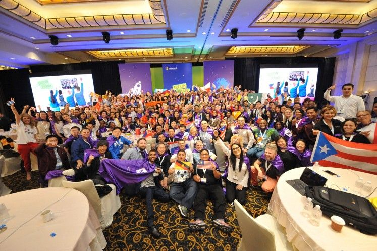 Close to 400 educators and school leaders from 91 countries were in Singapore to exchange innovative ways of teaching and preparing students for the digital age.