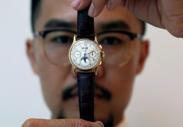 Christie's to auction rare watch once owned by Egyptian king