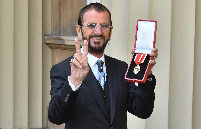 Ringo Starr teases new album in the works