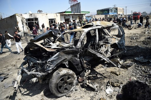 Suicide bomber kills eight in Kabul attack: officials