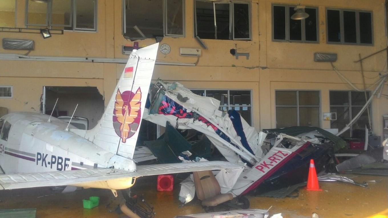 Aerobatic Air Force pilot killed in airport crash