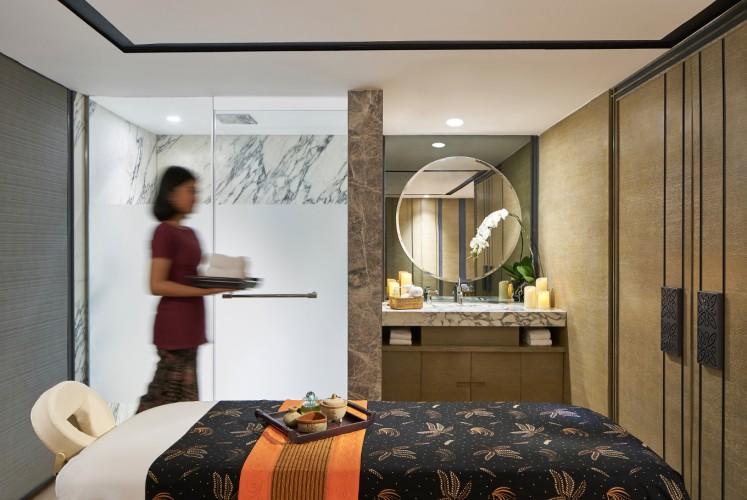 The Quan Spa at Marriott Yogyakarta Hotel.