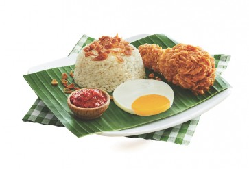 The skinny on McDonald's Indonesia 'nasi uduk' set
