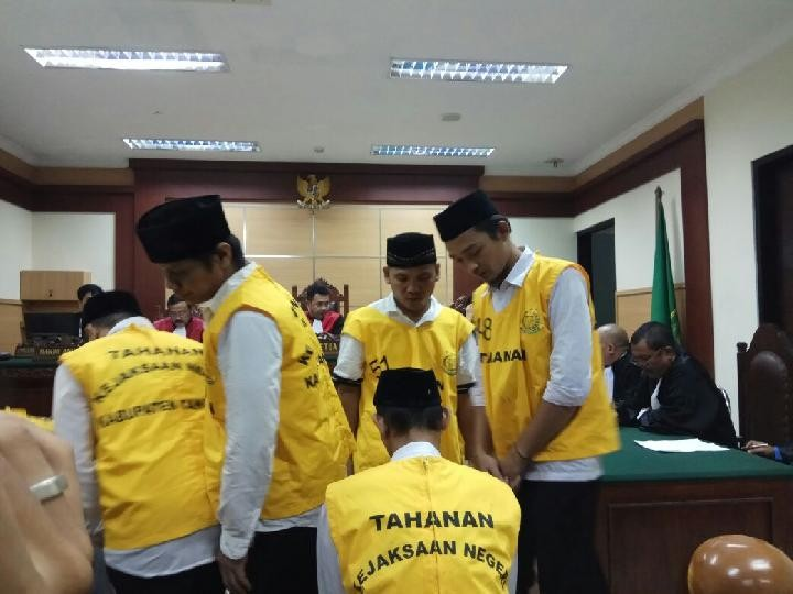 Prosecutors demand 7 years for suspect in Cikupa persecution case