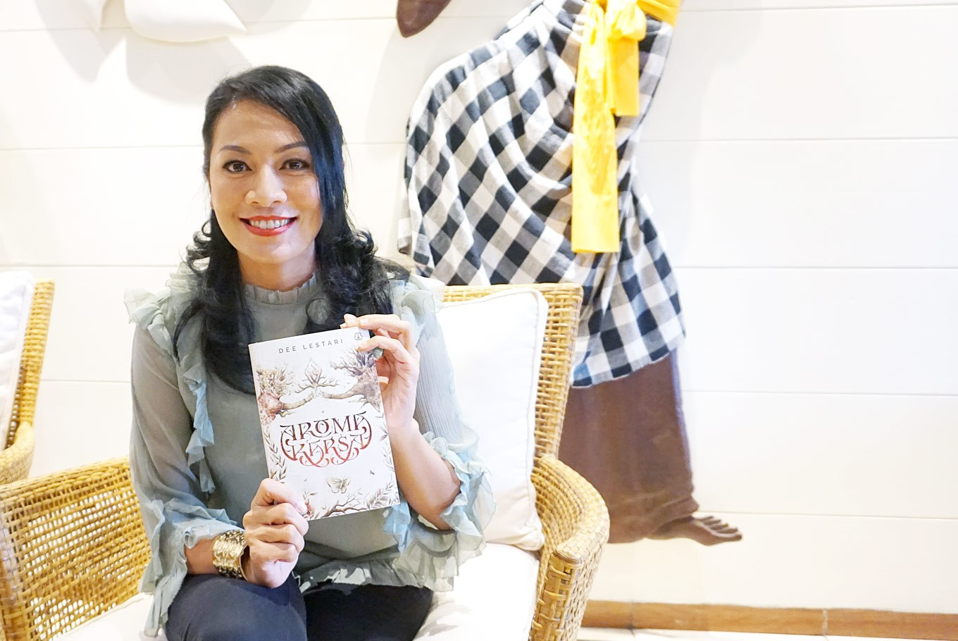 Dee Lestari and her most challenging novel yet
