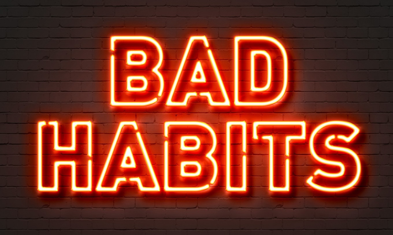 Bilderesultat for bad habits 2018