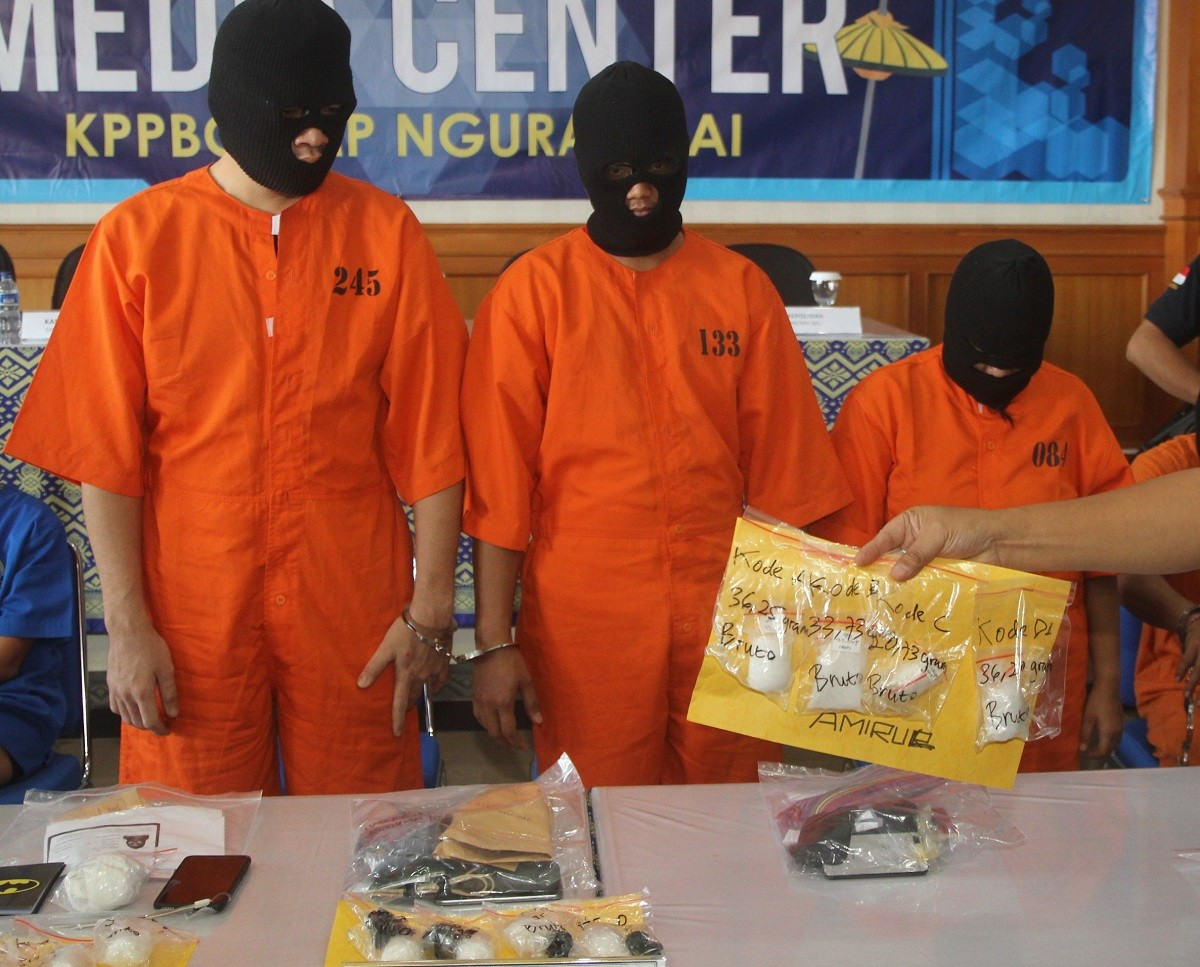 Malaysian arrested in Bali with meth hidden in rectum