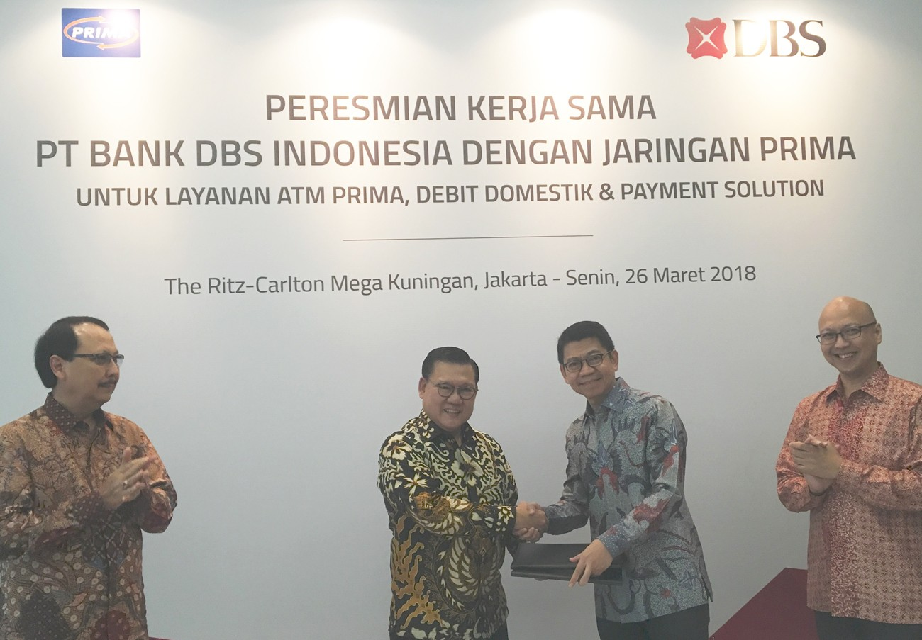 DBS Indonesia joins ATM PRIMA Network to expand outreach