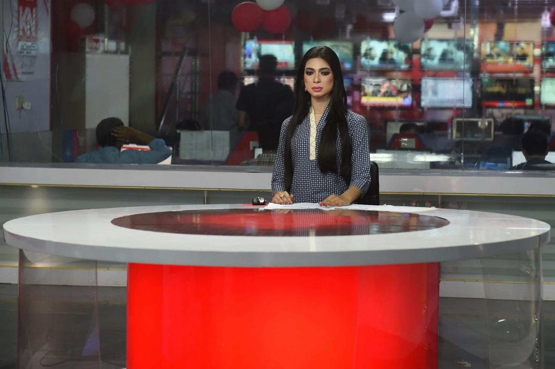 Pakistan's first transgender news anchor makes headlines