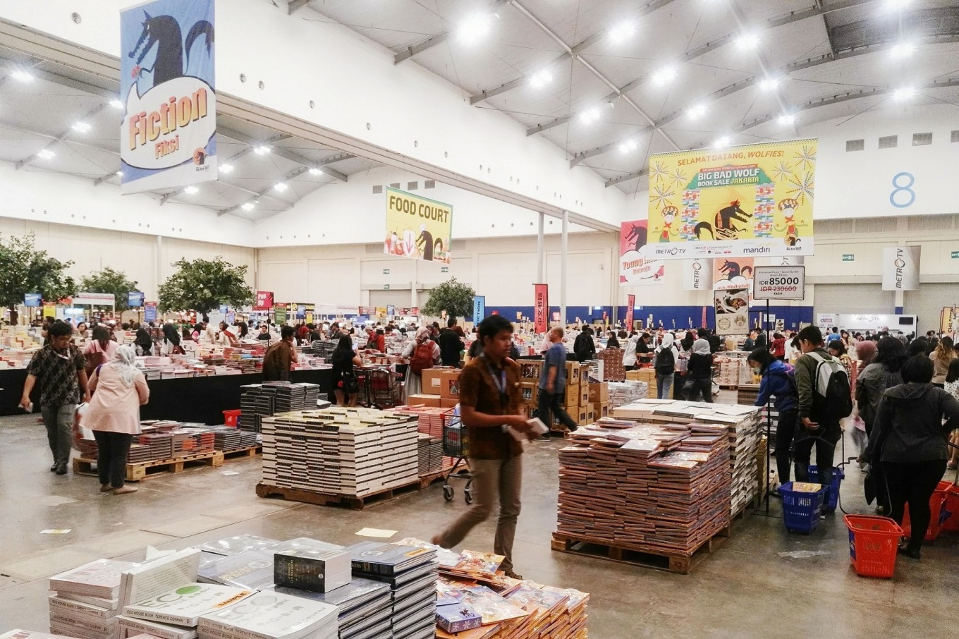 Big Bad Wolf book sale to return to Jakarta in March