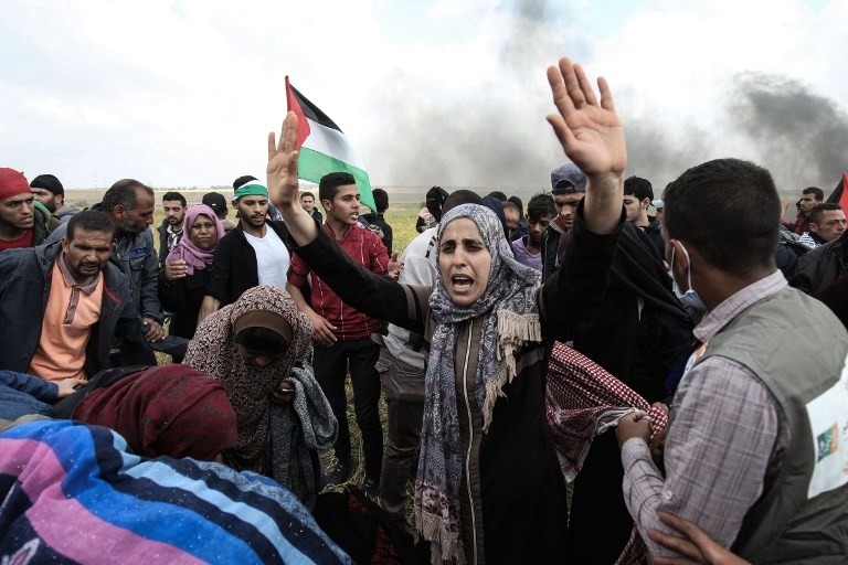 Indonesia strongly condemns Israeli attacks on Gaza protesters