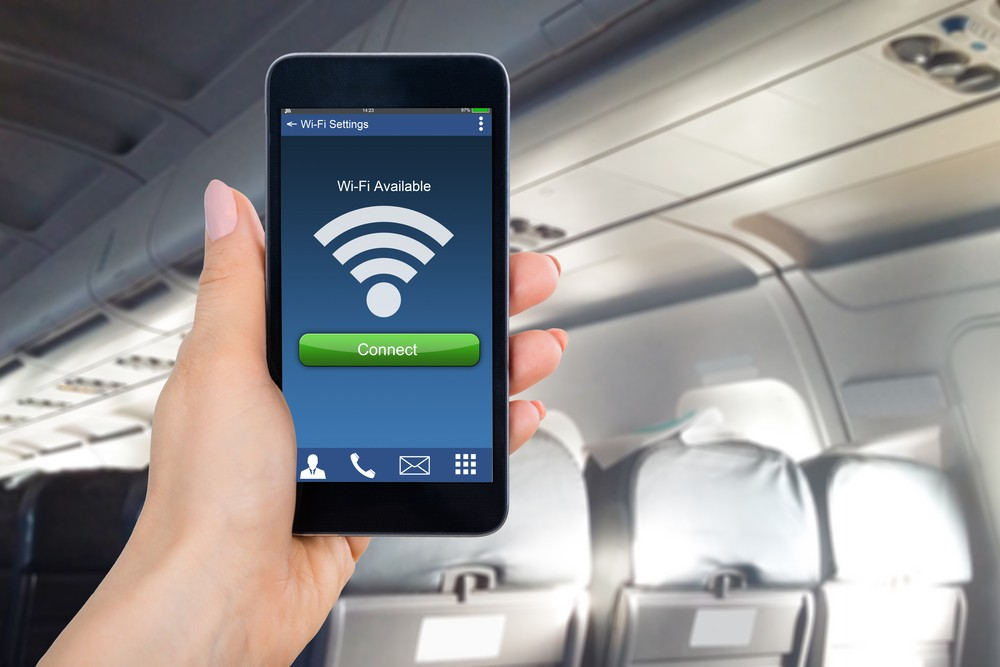 LiFi: Using light for in-flight connectivity