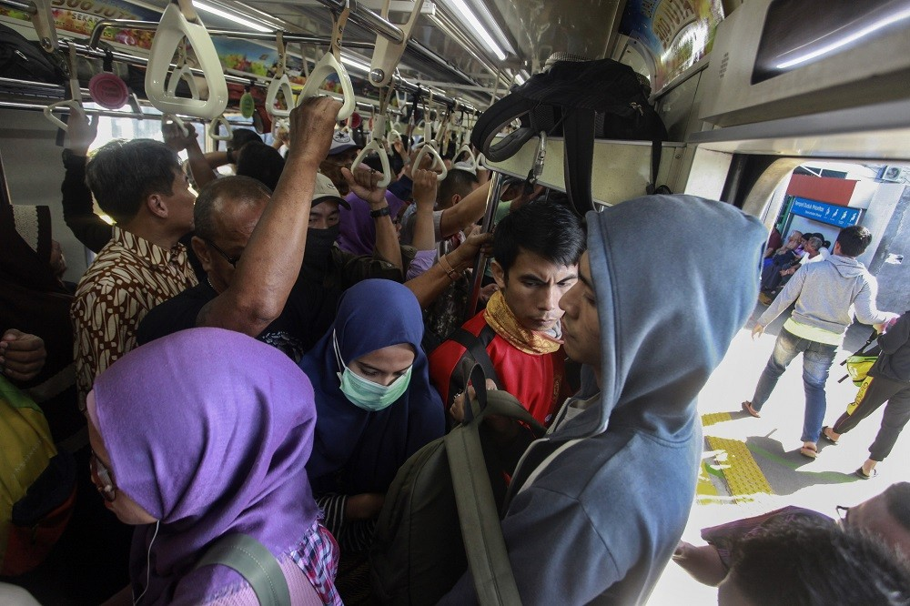 Sexual harassment in train
