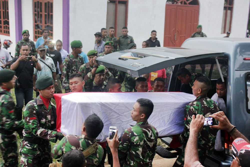Over 1,000 civilian lives at risk: Papua Liberation Army