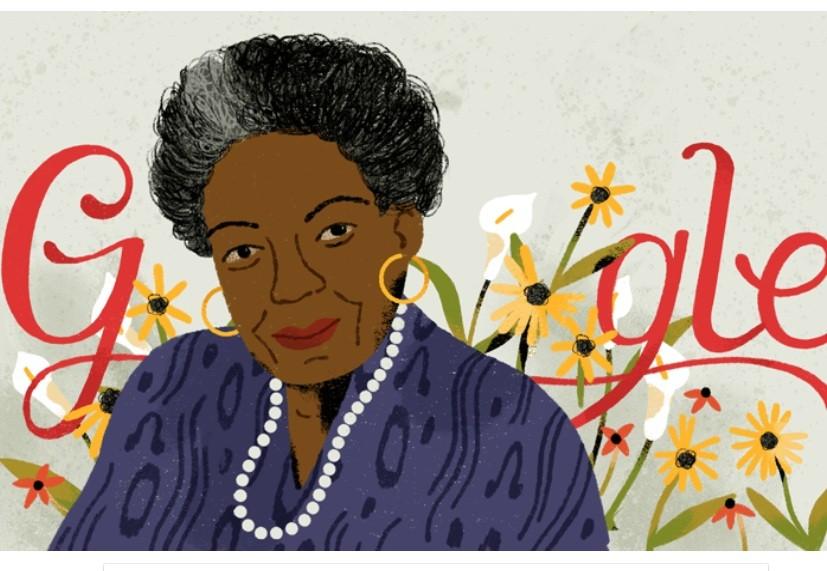 Google Doodle features Dr. Maya Angelou's 'Still I Rise' poem