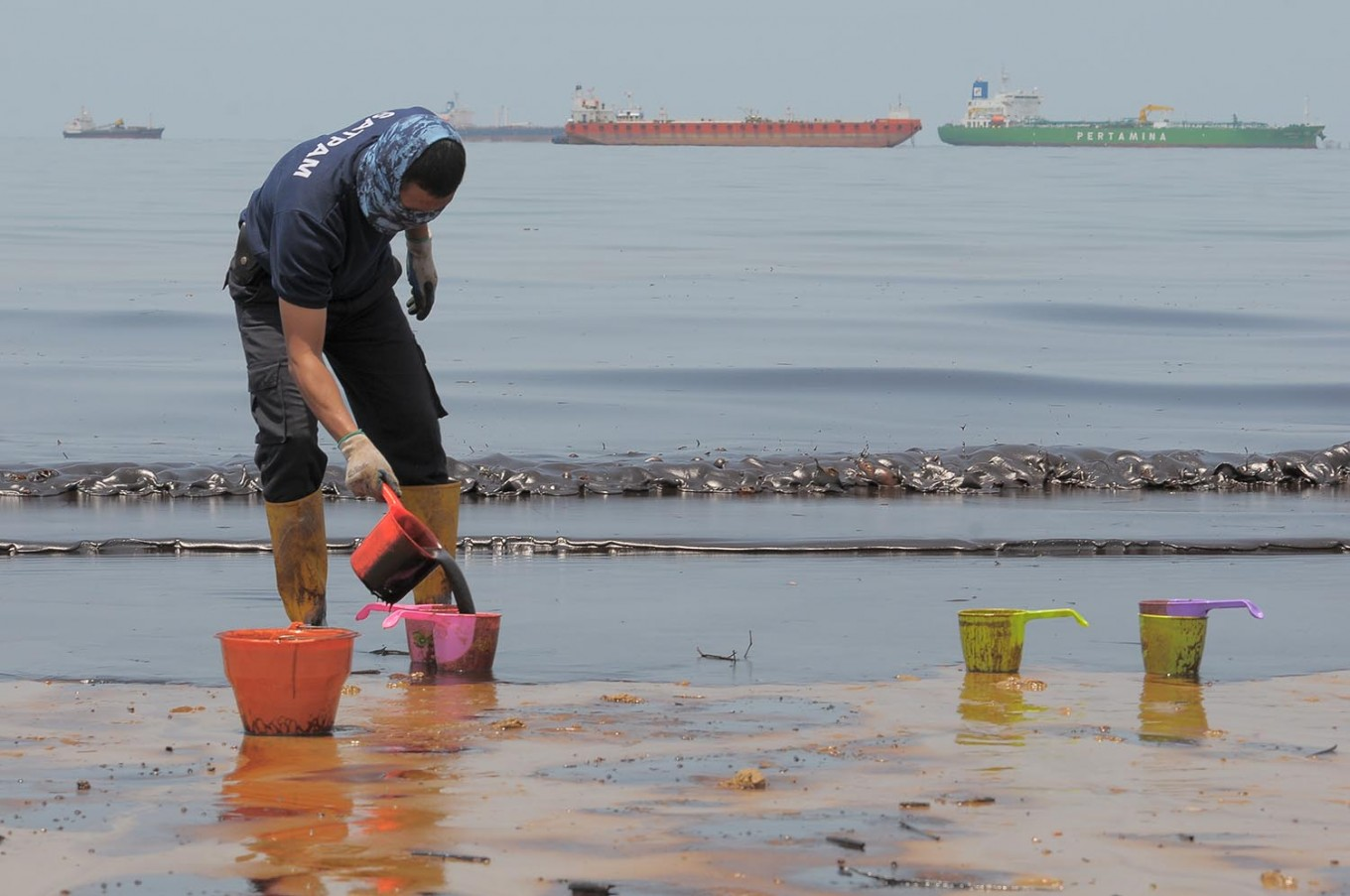 Oil spill incident not Pertamina's fault: Official