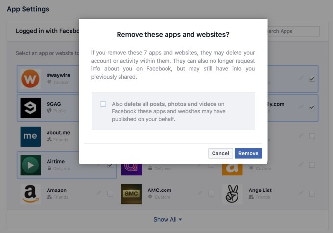Facebook to restrict data accessed by third-party apps