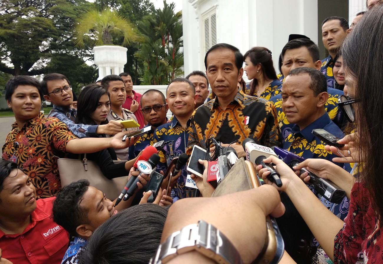 Jokowi allows ministers to campaign