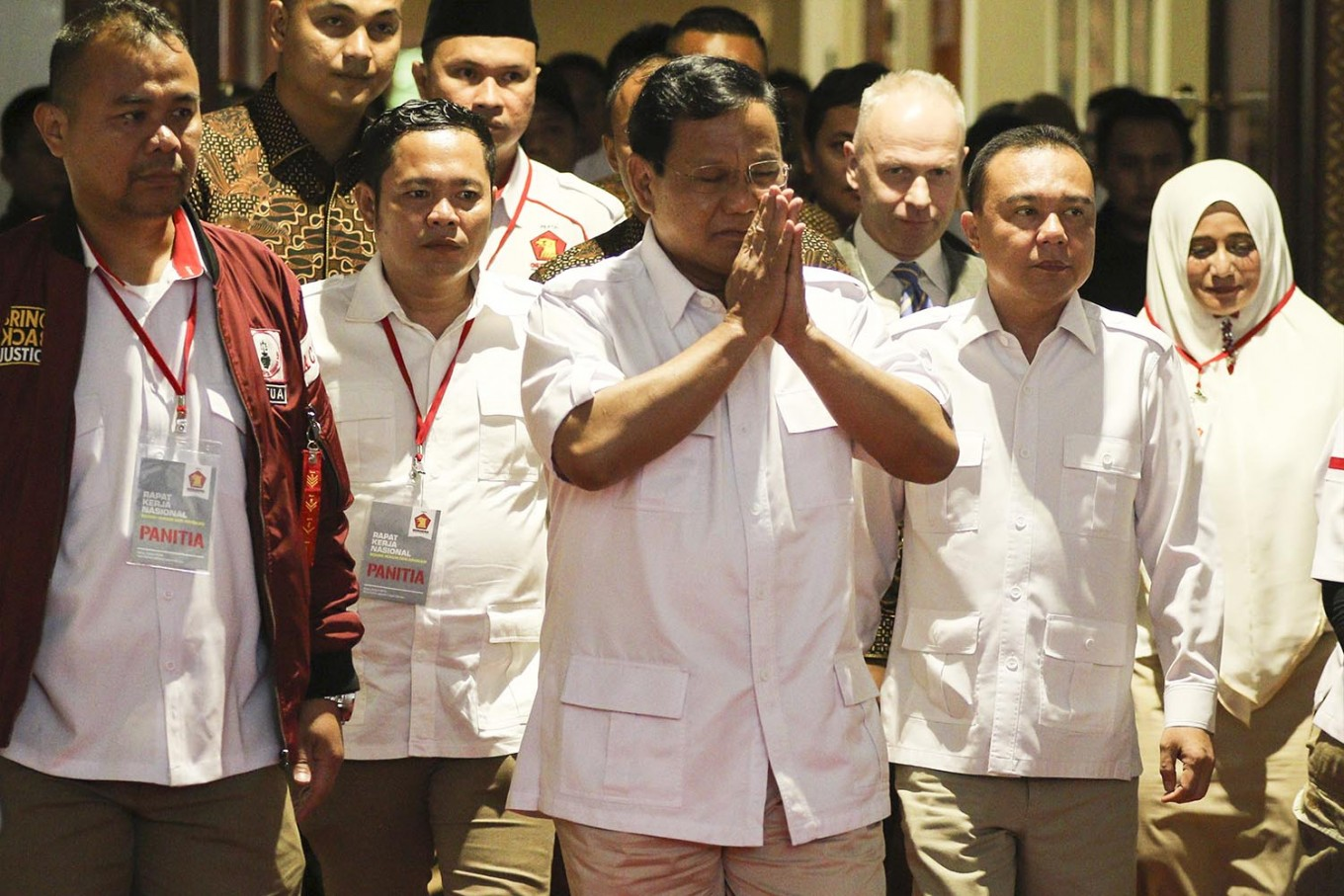 No presidential declaration for me yet: Prabowo