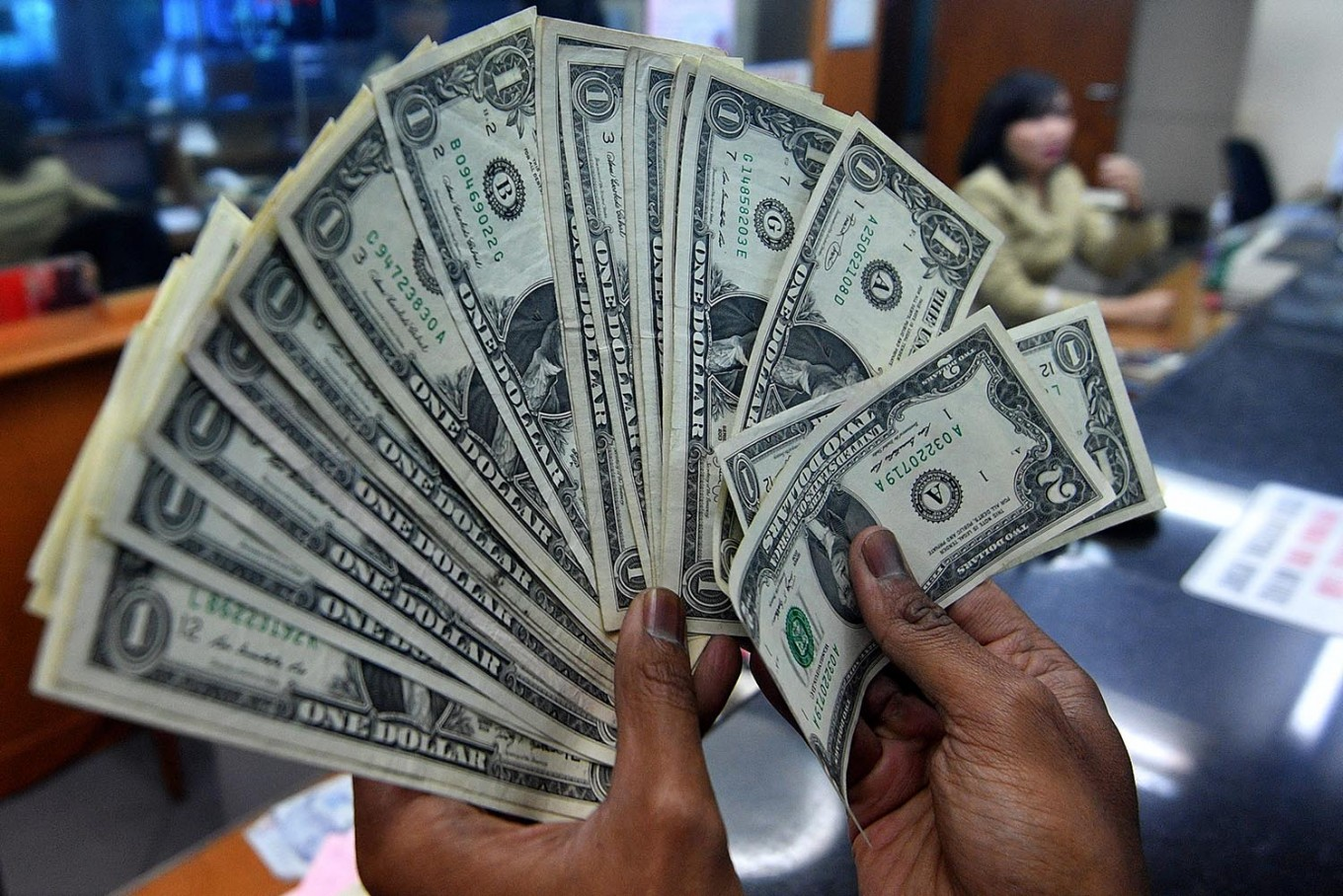 Rupiah, share index close lower on Wednesday