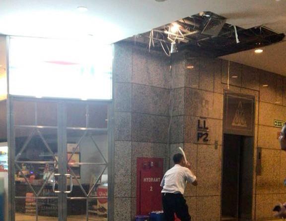 Denying rumors, IDX spokesman says no collapse at building