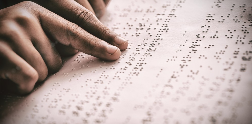 New Typeface By Japanese Designer Blends Braille With Visible