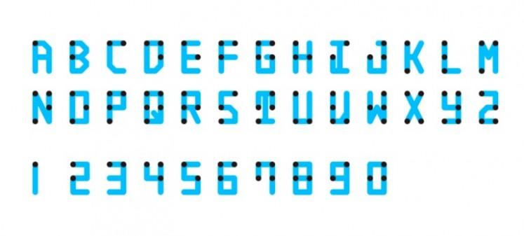 Braille Neue standard.