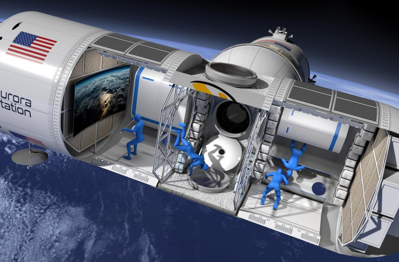 New luxury hotel will be 200 miles up and $792,000 a night