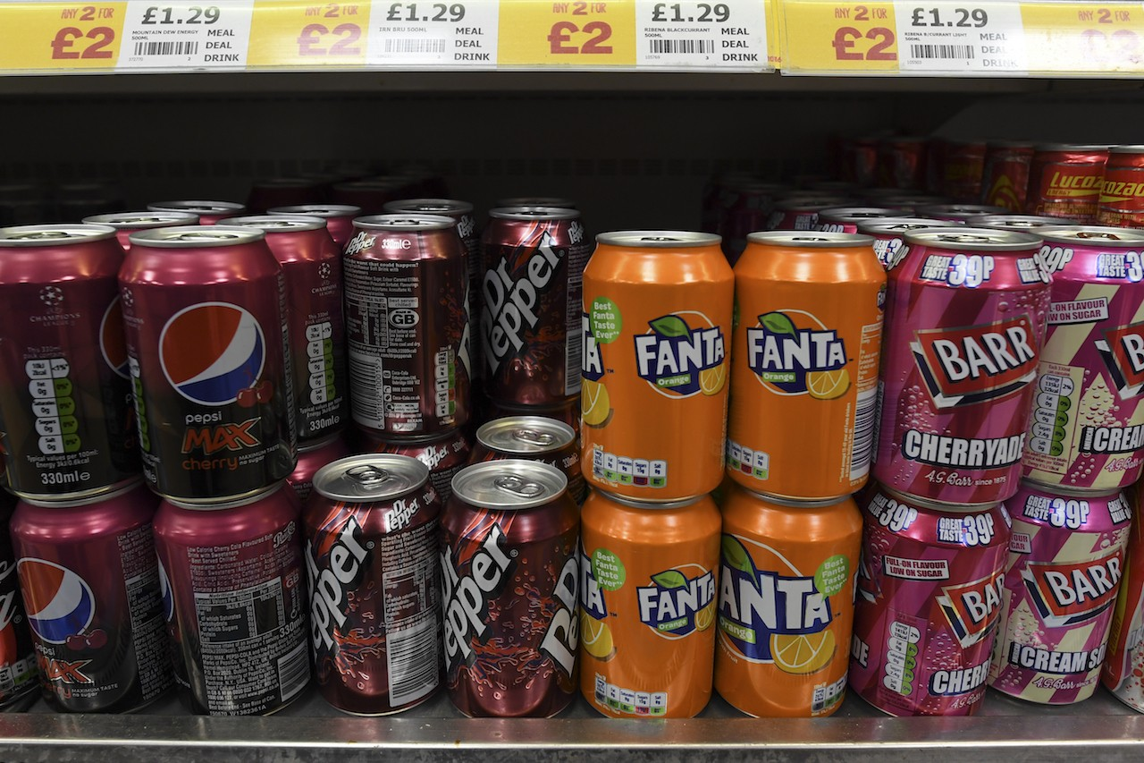 UK rolls out sugar tax in battle against obesity