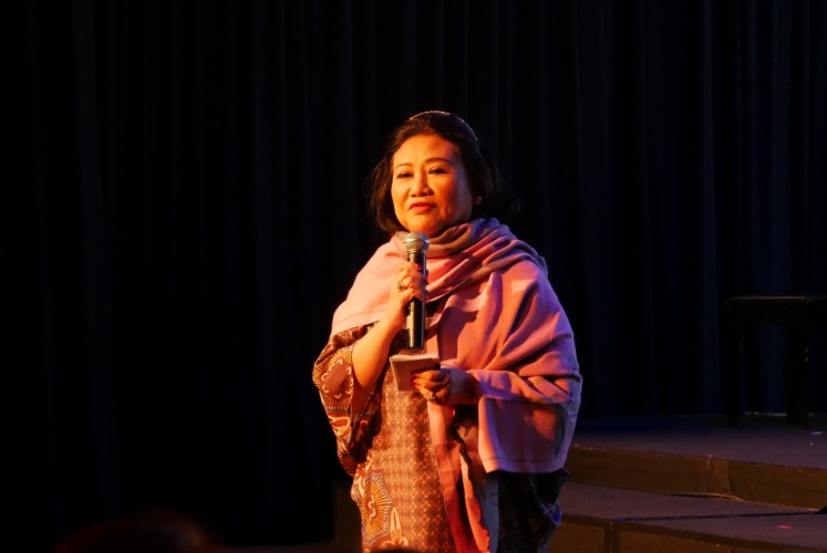 Prita Kemal Gani, founder and director of the London School of Public Relations (LSPR) .